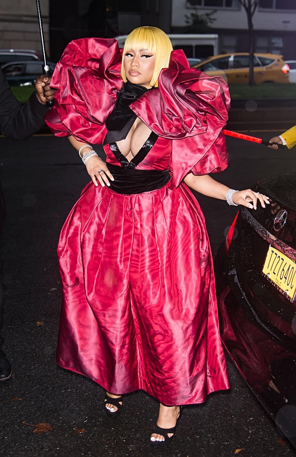 Le look très WTF de Nicki Minaj à la Fashion Week