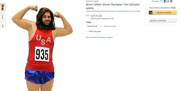 Hallowen : un déguisement de Caitlyn Jenner fait polémique