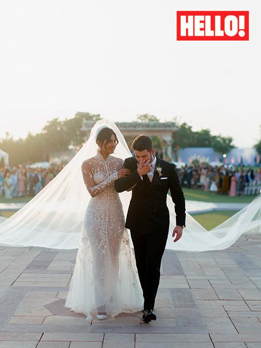 Priyanka Chopra : Sa somptueuse robe de mariée dévoilée !