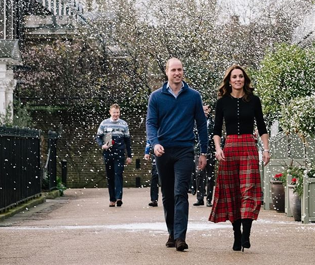22 – Kate Middleton et le prince William (Décembre 2018)
