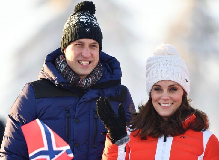 5 – Kate Middleton et le prince William en visite officielle en Norvège (Février 2018)