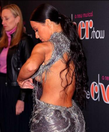 Oups ! Kim Kardashian en montre un peu plus que prévu…