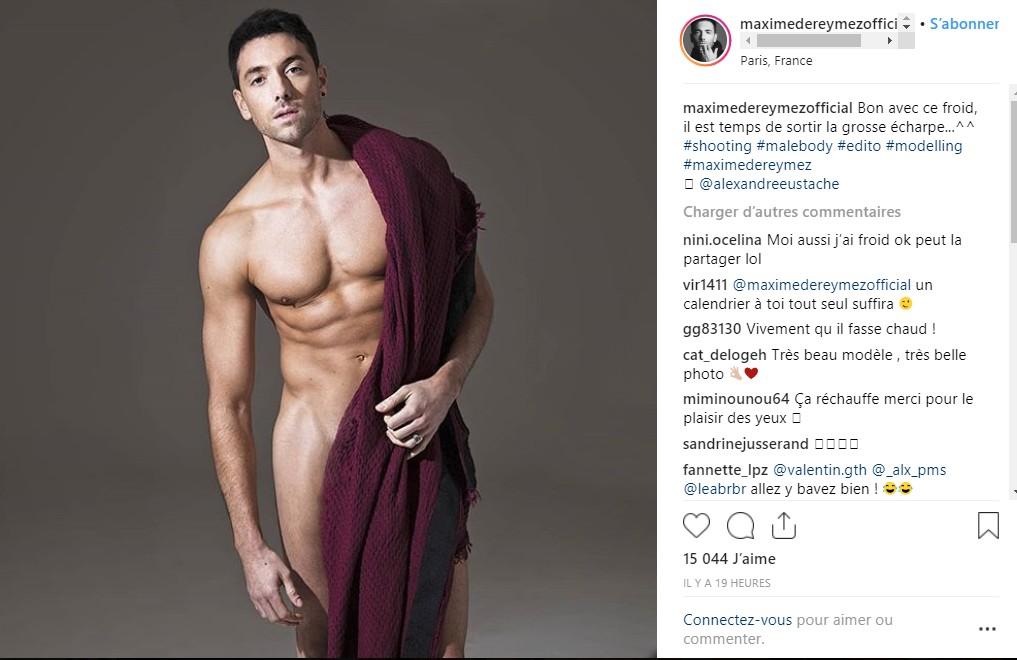 Maxime Dereymez se dévoile tout nu : Ses tablettes de chocolat font fondre la Toile