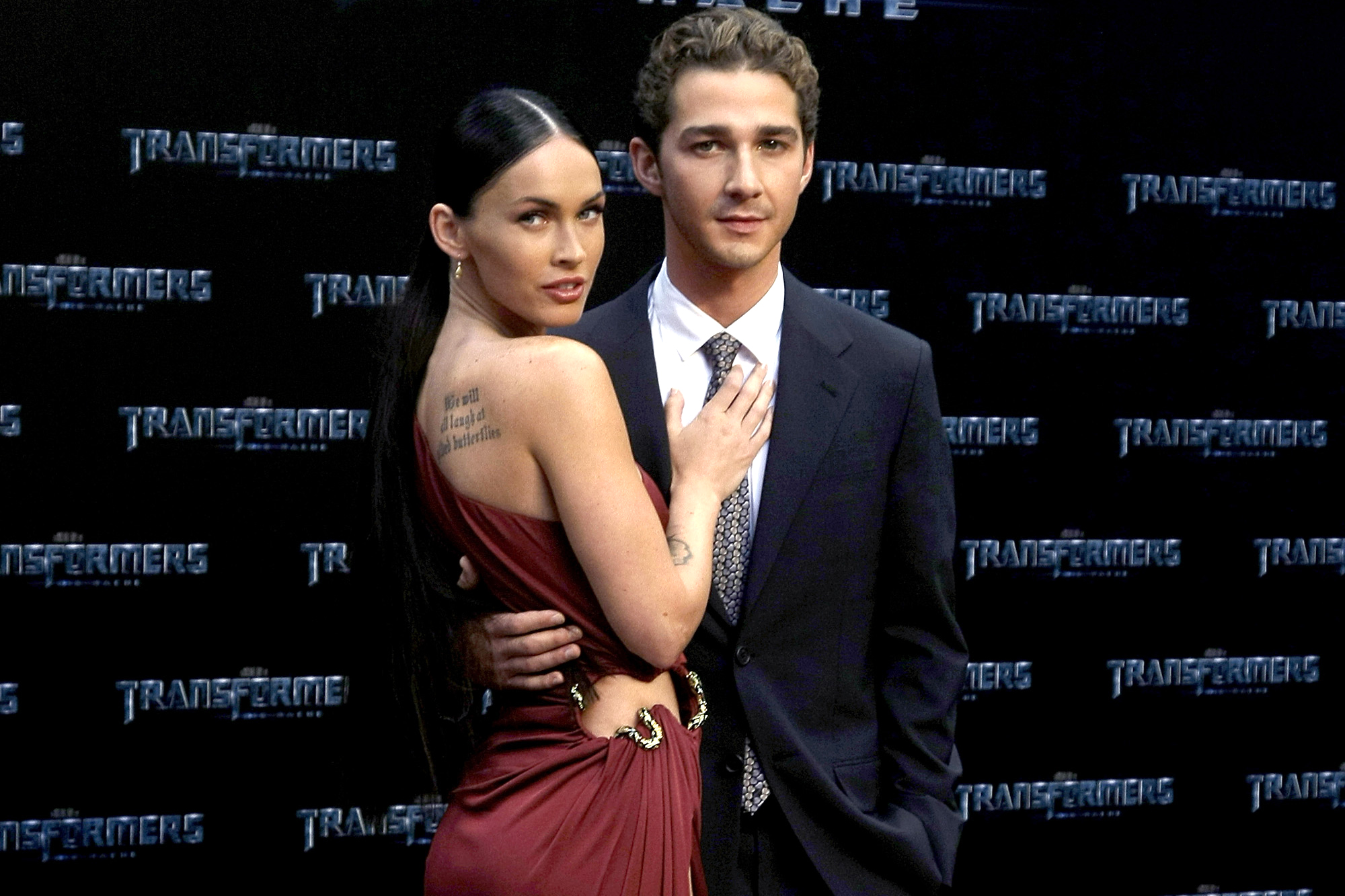 Apologise, Megan fox nude shia leboeuf remarkable