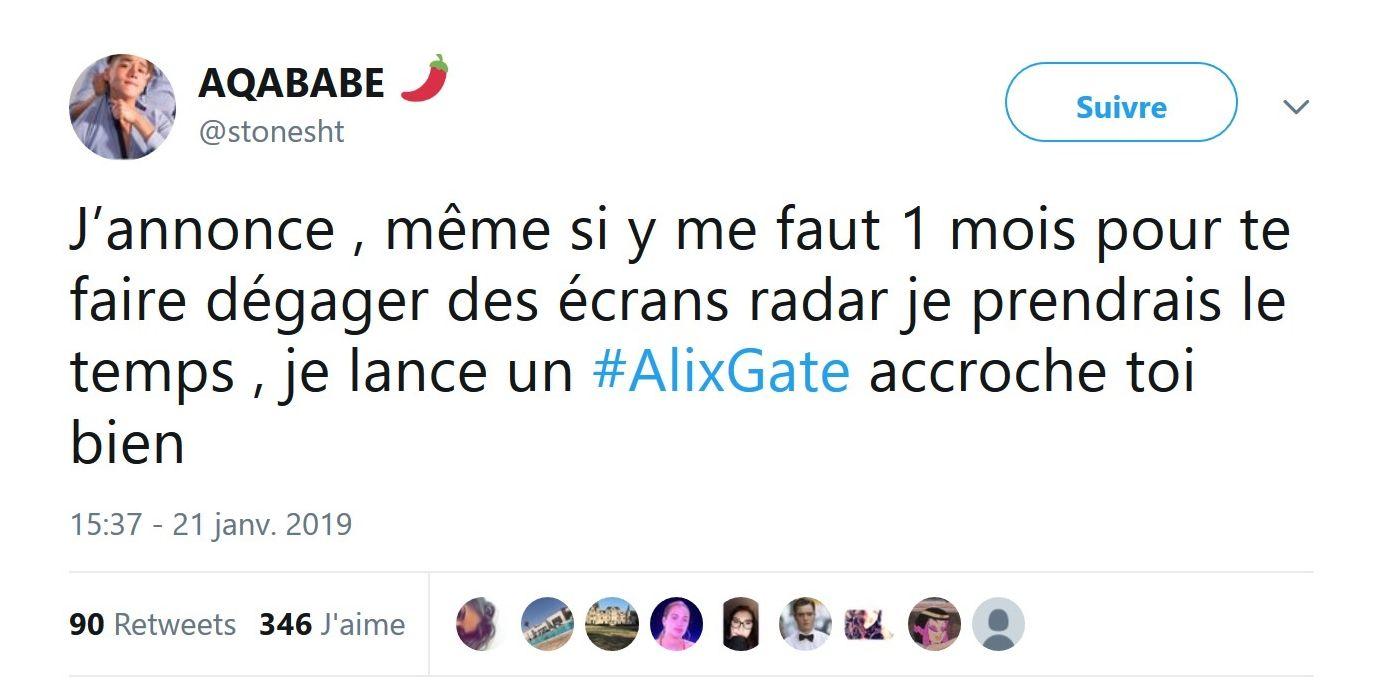 Alix clashe : La candidate tacle Magali Berdah et attaque Aqababe qui répond !