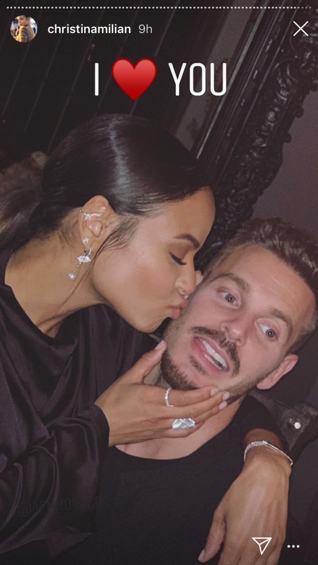 Matt Pokora et Christina Milian toujours aussi fous amoureux : Leur nouvel an en famille