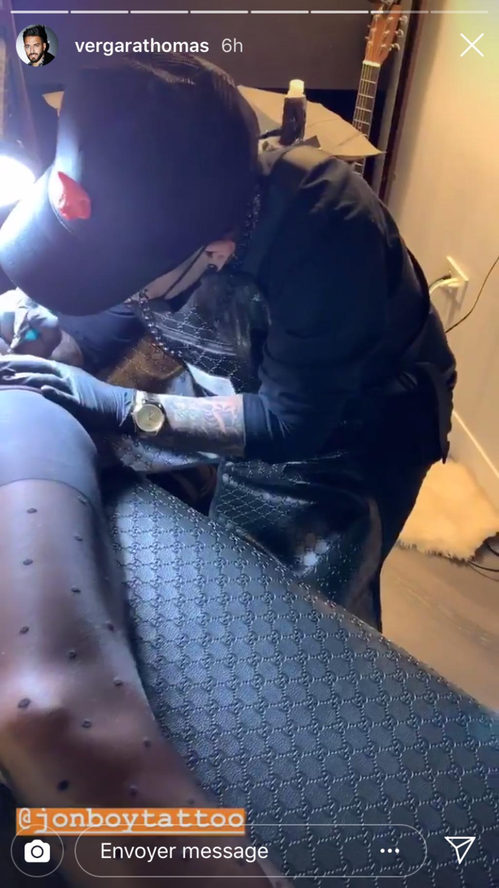 Nabilla Benattia ose un nouveau tatouage très sexy