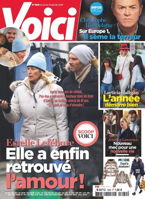 Estelle Lefébure amoureuse : L'ex de David Hallyday en couple avec un beau quadra ?