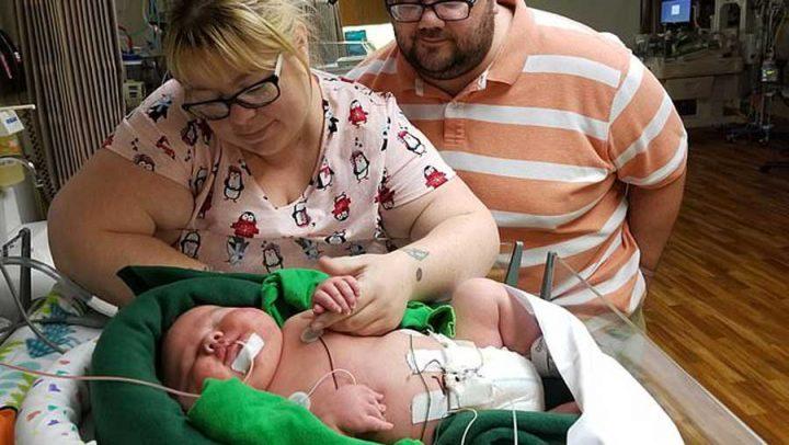 Texas Une maman donne naissance à un bébé de 6,4 kg 1
