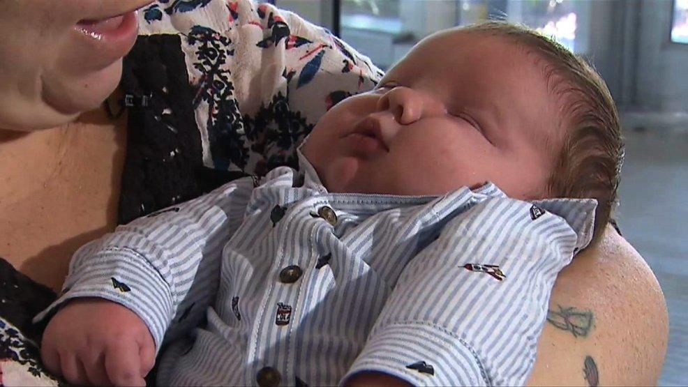 Texas Une maman donne naissance à un bébé de 6,4 kg 2