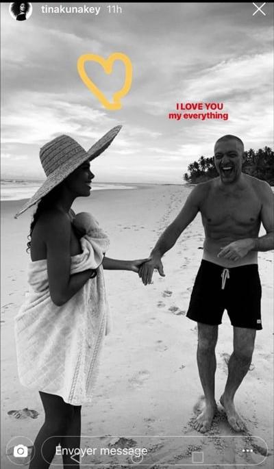 Tina Kunakey enceinte et amoureuse : Son cri du cœur pour Vincent Cassel