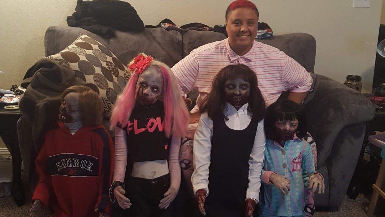 Déçue de ses précédentes relations, elle se marie avec sa poupée zombie 1
