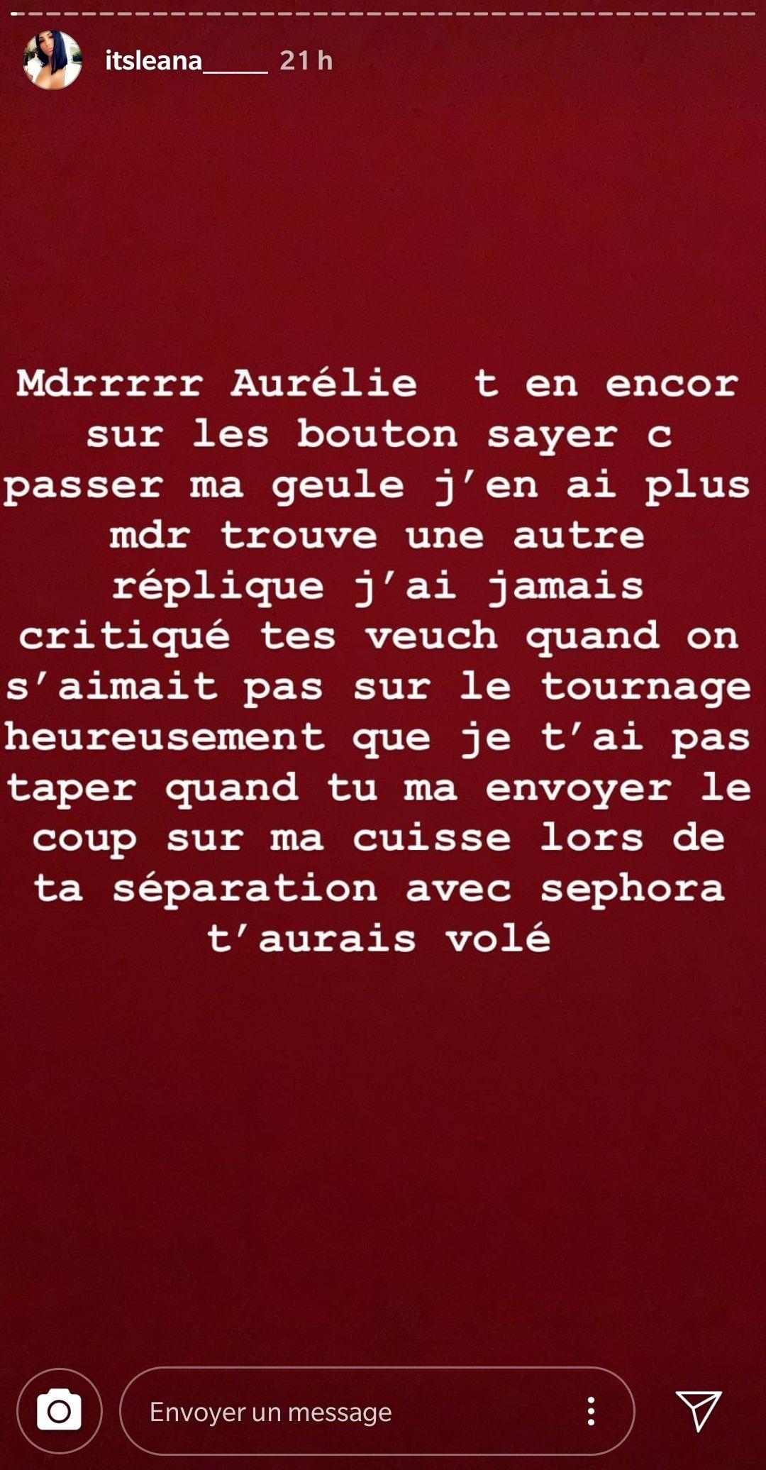 Les Anges 11 : Après Jelena, Léana se clashe avec Aurélie Dotremont