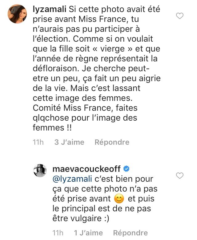 Miss France : Maëva Coucke pose seins nus… et fait polémique