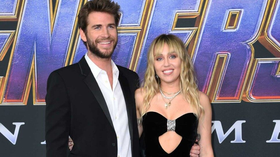 Miley Cyrus et Liam Hensworth