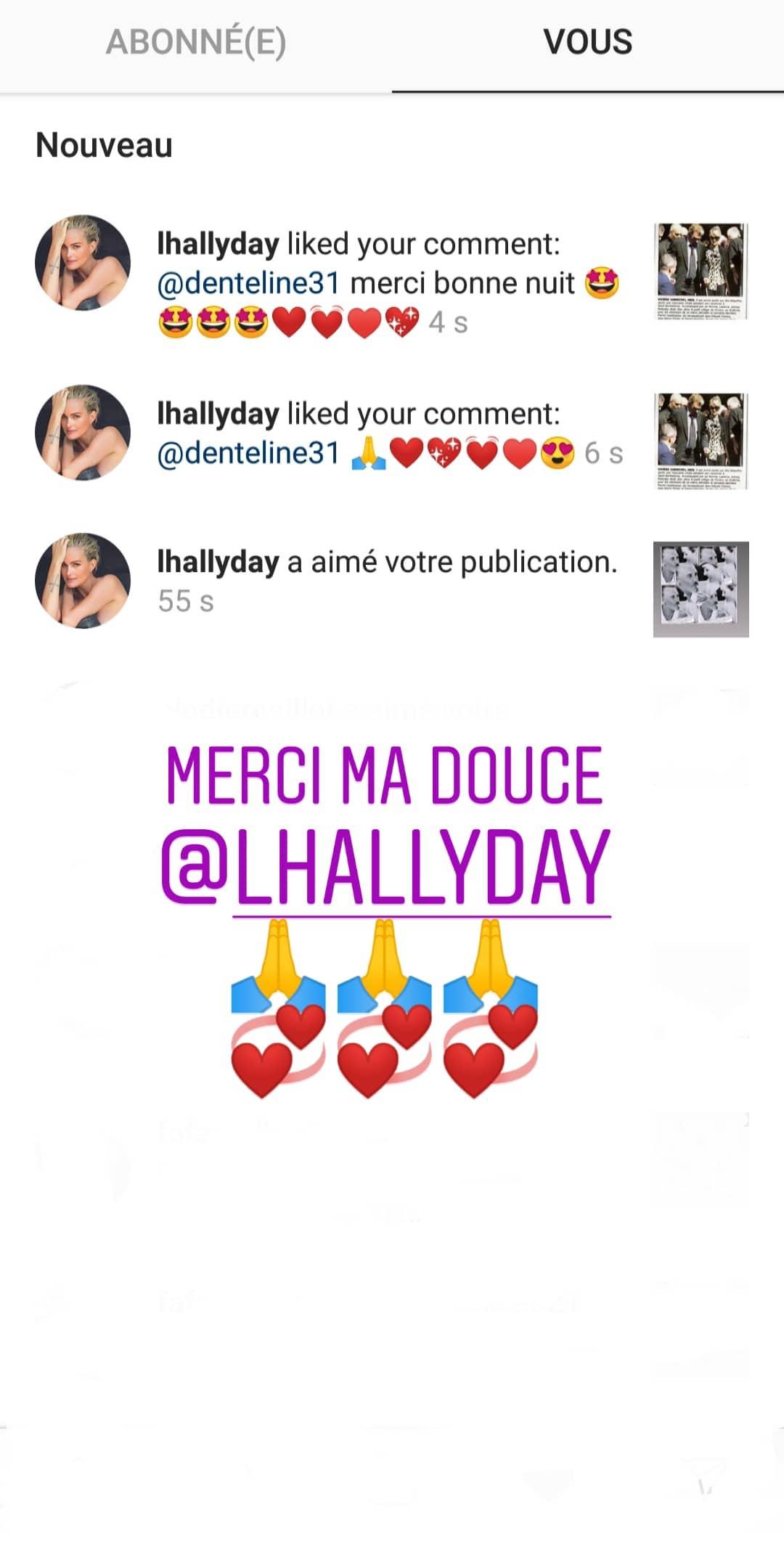 Laeticia Hallyday : Son geste fort contre Nathalie Baye