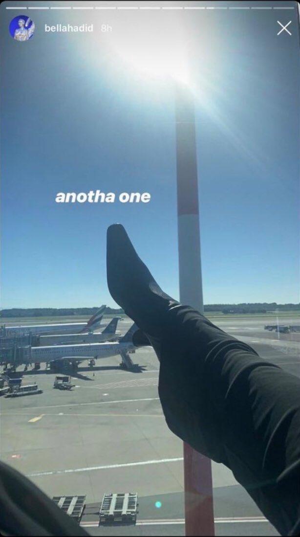 Bella Hadid s'attire la colère de l'Arabie Saoudite et des Emirats pour une photo… de son pied !
