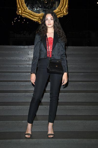 Deva Cassel : la fille de Monica Bellucci et Vincent Cassel nouvelle égérie de Dolce & Gabbana