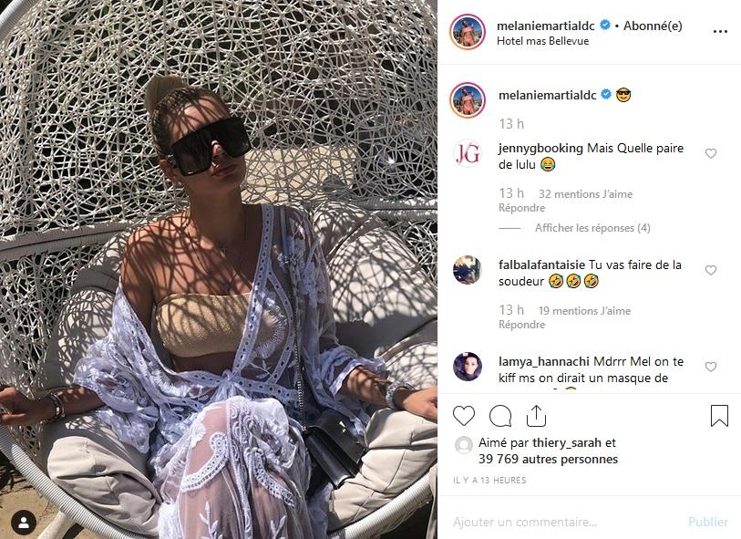 Mélanie Da Cruz provocatrice ? Sa nouvelle paire de lunette fait jazzer