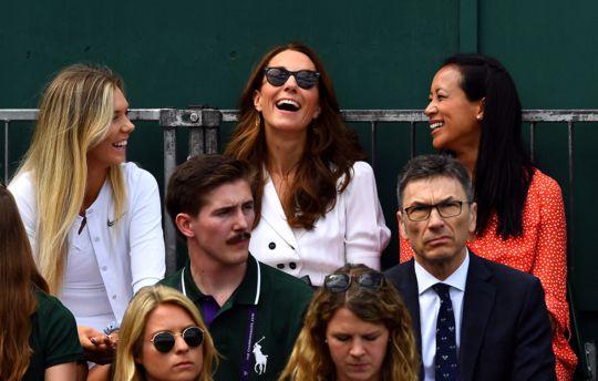 Kate Middleton, radieuse, elle crée la surprise à Wimbledon