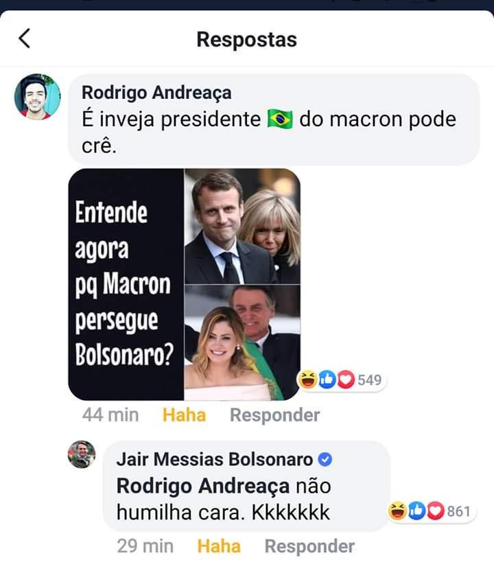 Brigitte Macron moquée par Jair Bolsonaro : Emmanuel Macron prend sa défense !