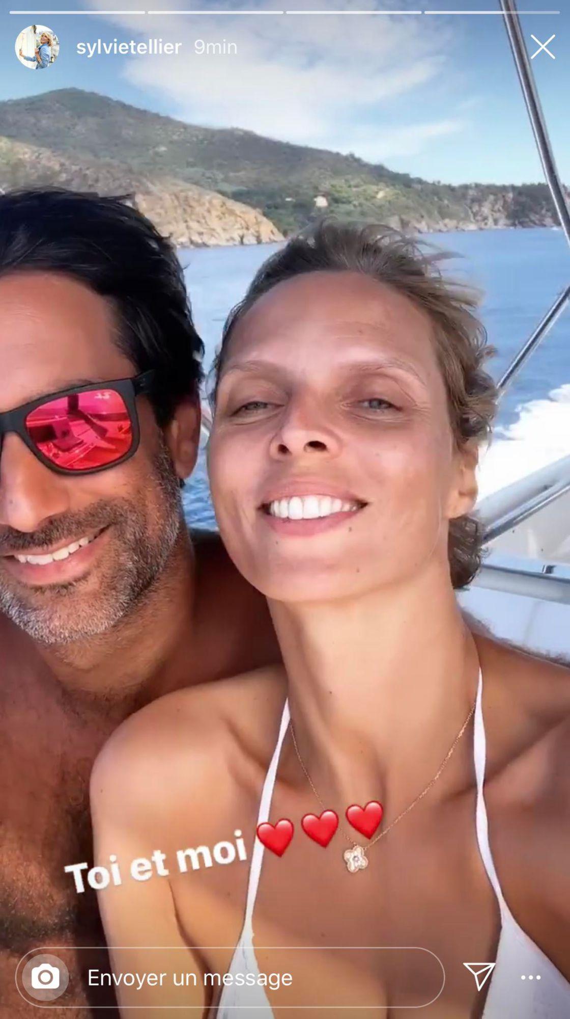 Sylvie Tellier partage un tendre moment en compagnie de son mari