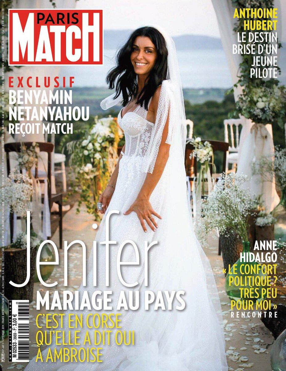 Jenifer mariée en secret à Ambroise : découvrez sa robe de mariée