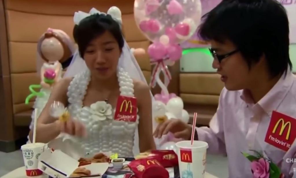 Ils se sont dit «oui» dans un McDonald's