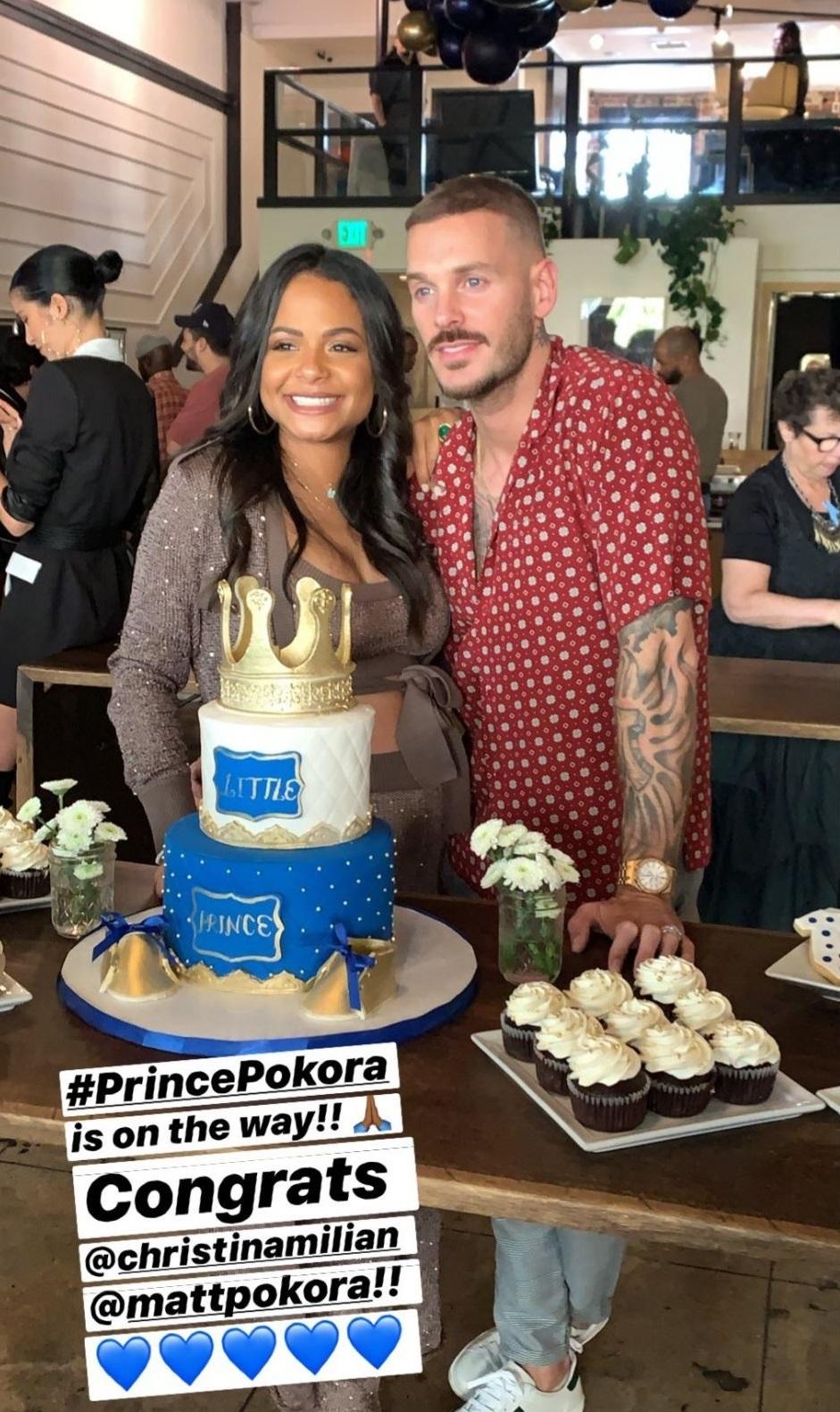 Matt Pokora et Christina Milian bientôt parents : Le prénom de leur bébé dévoilé ?