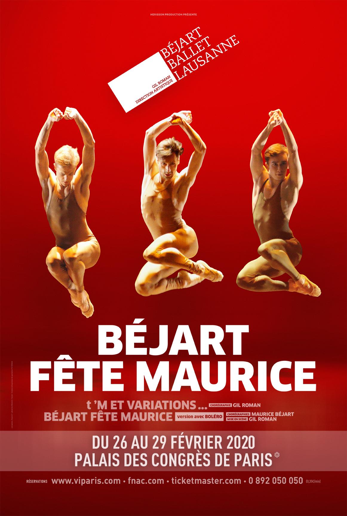 Bejart Fete Maurice