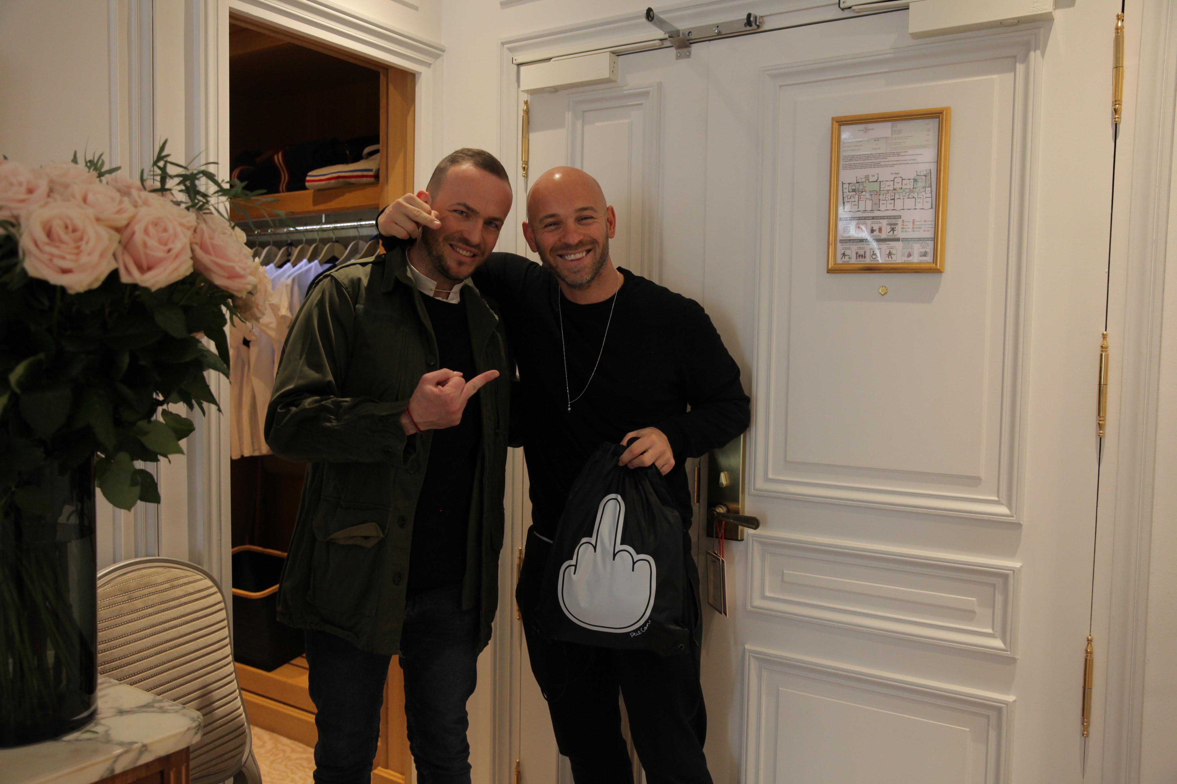 Franck Gastambide – Gift Room des Césars Plaza Athénée