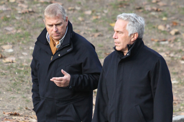 Prince Andrew, Jeffrey Epstein @ New Licensing MEGA